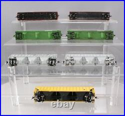 Assorted HO Scale Freight Cars withKadee Couplers KCS, BN, D&RGW, CNW 7 EX