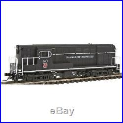Atlas Kansas City Southern #40, Early Body and Cab with Body Mounted Handrails N