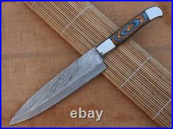 Damascus blades Outdoor BBQ Professional Utility chef knife set for kitchen-2091