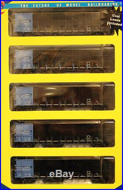 HO Athearn RTR 5-Pack 50' Thrall High-side Coal Gondolas withcoal Loads DRGW SET#1