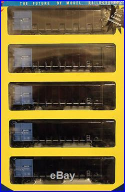 HO Athearn RTR 5-Pack 50' Thrall High-side Coal Gondolas withcoal Loads DRGW SET#2
