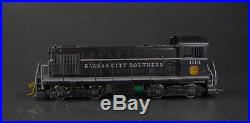 HO Brass Kansas City Southern/KCS Alco S-2 #1114 Professionally painted with DCC
