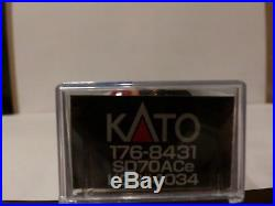 KATO N SCALE EMD SD70ACe KCS SOUTHERN BELLE DCC WithSOUND