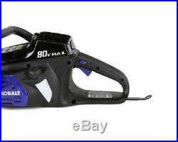 Kobalt 80-Volt Max Lithium Ion 18-in Cordless Electric Chain Saw Tool Only