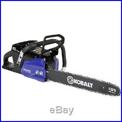 Kobalt 80-Volt Max Lithium Ion 18-in Cordless Electric Chainsaw Model # KCS180B