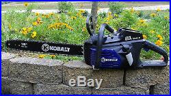 Kobalt 80-Volt Max Lithium Ion 18-in Cordless Electric Chainsaw Tool Only
