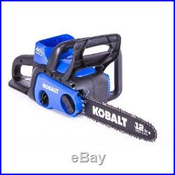 Kobalt KCS 120-07 40-volt Max Lithium Ion 12-in Cordless Electric Chainsaw