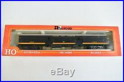 Lot of 9 Rivarossi HO Scale Kansas CIty Southern Cars Baggage Duplex Coach Dome