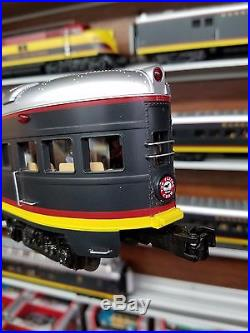 MTH Premier 20-20343-1 Kansas City Southern E6 ABA ps3 with 13 70' Passenger Cars