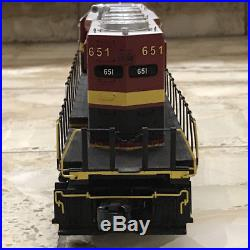 MTH SD40-2 Diesel Engine with Proto-Sound 3.0 Kansas City Southern #651 O Scale