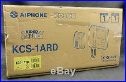 New AIPhone KCS-1ARD Color Video System with Tilt Control