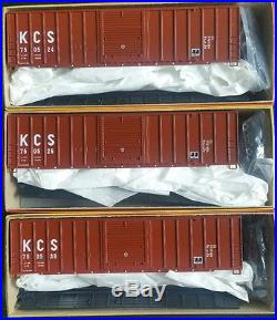 ROUNDHOUSE HO KCS Modern Freight #00606 50' Boxcar 4 schemes/3 numbers each