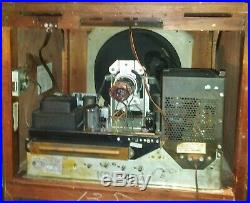 Vintage 1950-51 RCA Victor Model TC-125 Chass# KCS34B CTR# 12LP4 Willing To Ship