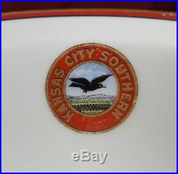 Vintage Kansas City Southern Flying Crow Bowl (Last of 3)