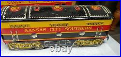 Vintage Marx And Company Kansas City Southern Diesel Type Electric Train Set